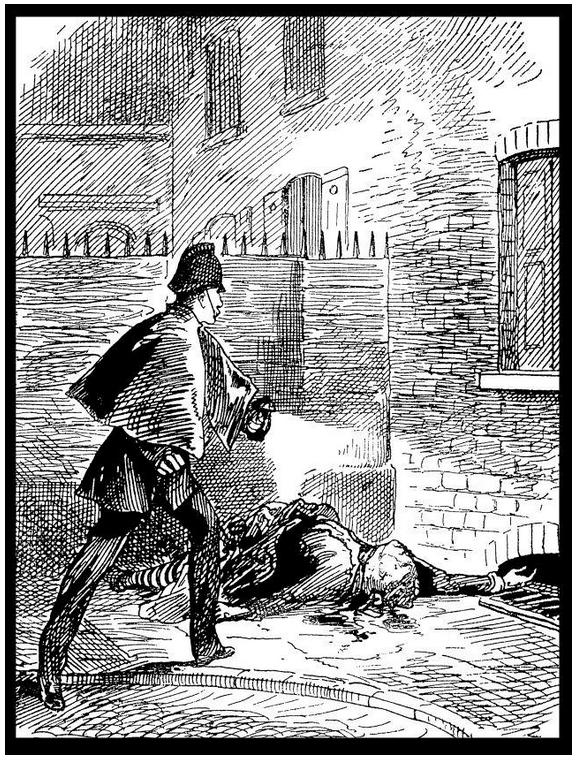 El cuerpo de Catherine Eddowes