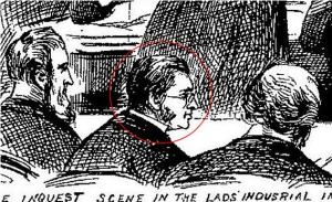 Posible imagen de Francis Craig en el proceso de investigación de Annie Chapman